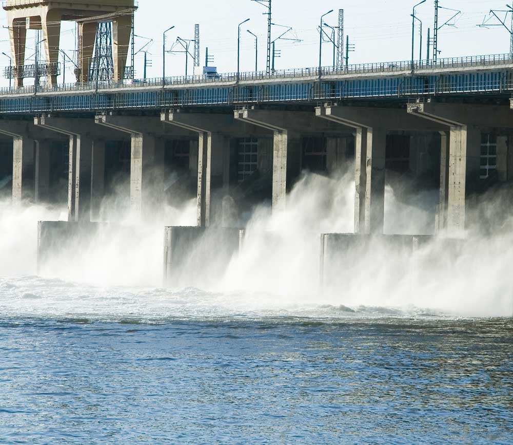 Waterkracht-energie